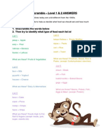 Worksheet-About Eatguide Healthy Food