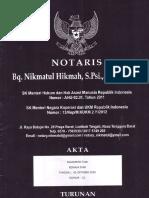 AKTA NOTARIS KOPTAN REMAJA TANI.PDF