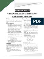 Arihant Class12 Mathematics Revisionnotes-1