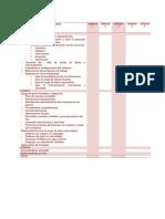 Cronograma Proceso Implantacion Sigesp