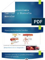 Hipercolesterolemia Familiar y Distrofia Muscular