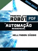 eBook Primeiros Passos Na Robótica e Automação Residencial V1