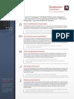 Snapdragon 730 Mobile Platform Product Brief