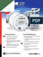 Shark 270 Revenue Energy Meter Brochure E159710