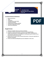 La Estructura Del Portafolio