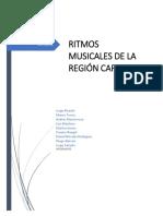 Ritmos Musicales de La Región Caribe