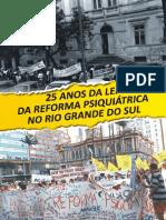livro 25 anos da reforma psiquiatrica no rs