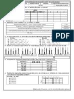 Evaluacion Acumulativa 1 Periodo matematicas