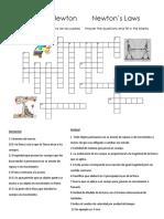 Quiz Didáctico Leyes de Newton