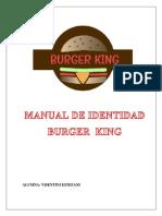 Burguer King Manual de Identidad