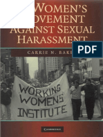 Carrie N. Baker - The women's movement against sexual harassment  -Cambridge University Press (2008).pdf