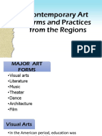 L2 - Contemporary Art Forms and Practices From the Regions