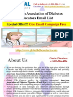 American Association of Diabetes Educators Email List.pptx