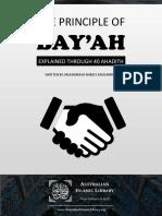 The principle of Bay'ah