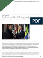 Acordo Mercosul-UE e o lobby empresarial brasileiro _ Notícias e análises sobre a economia brasileira e mundial _ DW _ 18.07.2019