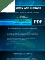 Fetal Biometri and Growth 010818