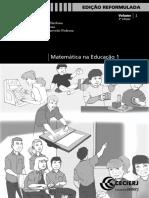 Matematica Na Educacao 1 Vol1