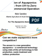 Aquaponics from 0 to commercial