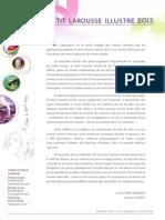 PL2013 Dossier de Presse