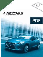 Mazda 2 Skyactiv Owners Manual (2015 - 2016).pdf