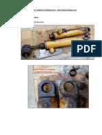 Inspección Cilindros Hidraulicos Motoniveladora 12G