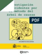 Método del Árbol de Causas investigación de accidentes