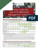 SPLF Management Calendar