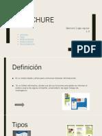 Brochure educativo