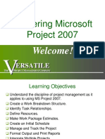 Mastering Microsoft Project 2007