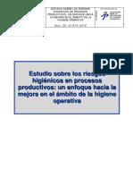 higiene en procesos productivos