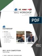 Idcc Workshop
