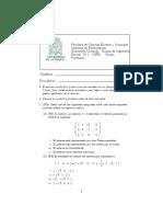 Álgebra lineal 2019