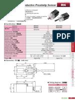 Czujnik Indukcyjny RN04 NP Firmy RIKO PDF (1)