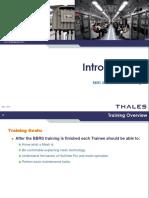 BMRC BBRS Annex a Introduction