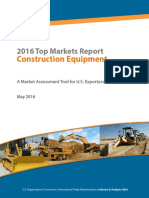 Construction Equipment Top Markets Report