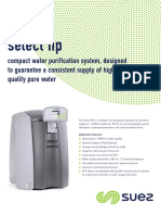 SUEZ Select HP Datasheet Nov 2016