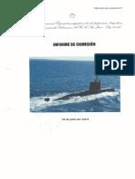 Informe final de la Comisión Bicameral encargada de investigar la desaparición del submarino ARA San Juan