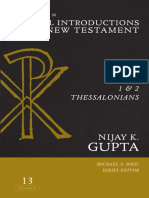 1 and 2 Thessalonians (Zondervan Critical Introductions to the New Testament)