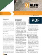 ALFA - MÁRMOL - Manual de Instalacion - Pags 5