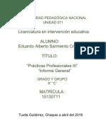 Informe Eduardo