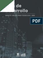 Bases Del Plan Distrital de Desarrollo - Bogotá Mejor Pa_2