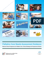 Palliative Care Needs Assessment Guidance