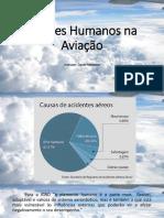 Fatores Humanos e a Aviação