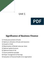 Buniness Finance