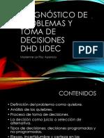 Diagnóstico de Problemas y Toma de Decisiones