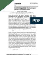 Perbandingan Penambahan Bioaktivator EM-4 (Effective Microorganisme) Dan Mol (Microorganisme Local) Kulit Nanas (Anana Comosus L.Merr) Terhadap Waktu Terjadinya Kompos