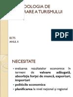 III Metodologia de Măsurare a Turismului 1
