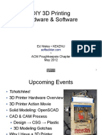 Acm Diy 3d Printing Hardware and Software3