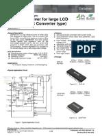 Bd9483xx-e White LED Driver Tv Panasonic TC42_AS610H