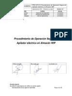 PRO-OP-013 Procedimiento de Manejo Seguro de Elevador Electrico - Almacen